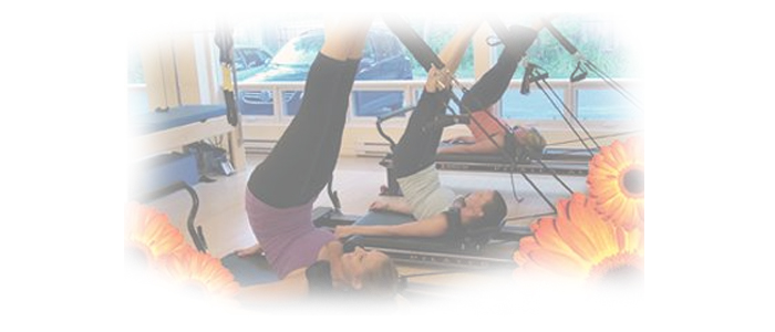 Pilates on Allegro Reformer